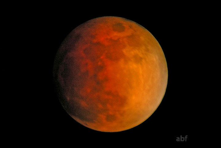 Lunar Eclipse, totality